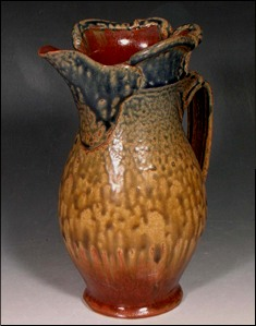 Country Red Ash Pitcher